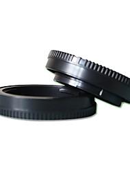 pajiatu posteriore copriobiettivo + tappo corpo della fotocamera per Sony NEX 5r 5T 5c 5n 3n f3 a6000 a5100 A5000 NEX7 nex6 NEX5 NEX3 a7 a7r
