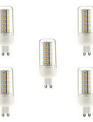 7W G9 LED Mais-Birnen T 36 SMD 5730 700 lm Warmes Weiß AC 220-240 V 5 Stück