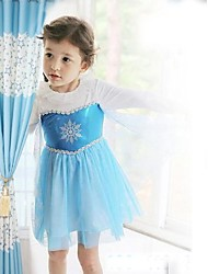 Girl's Baby Girl Dress Princess Dress Long-sleeve Dress