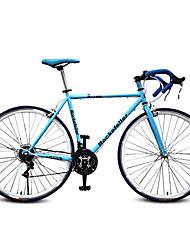 """52 """"bicicletta della strada pollici Rockefeller ™ 700c ha guidato in bicicletta 21 velocità v freno 70 raggi gomma a terra piega manubrio"""