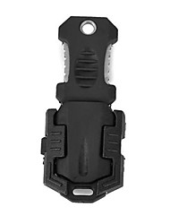 le style dendroctone du couteau de survie en plein air portable avec sangle - noir