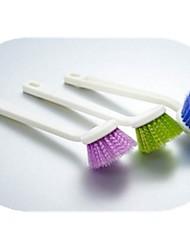 brosse de nettoyage, en plastique 20,8. × 4,8 × 2 cm (8,2 × 1,9 × 0,8 pouces) couleur aléatoire