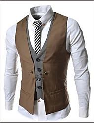tala causal casaco fino colete masculino IAA
