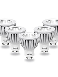 ienon® 5pcs GU10 3w 240-270lm fraîche lumière blanche / chaude conduit blub spot (100-240V)