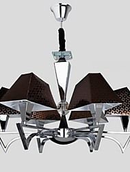 Fashion Wrought Iron Chandelier Lighting Restaurant Art Chandelier with 6 Lights