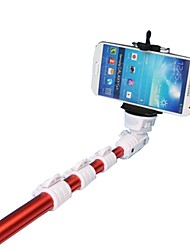 POPLAR HY-668 Handheld Monopod with Mobile Phone Holder for Cellphone