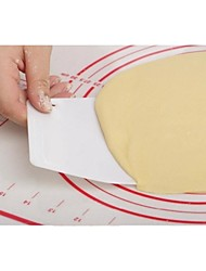 2PCS Bakeware High Quality Plastic Trapezoid  Butter Scraper