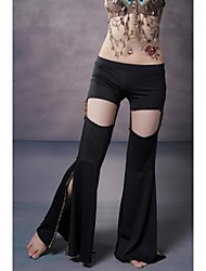 Belly Dance Tribal Style Bottom Slit Undetachable Performance Pants