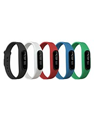 Bluetooth Bracelet Waterproof IP58 Multifunction Wristband Pedometer Bluetooth Smart Bracelet with Touch Screen