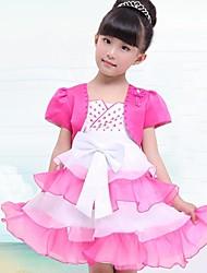 dulce bouffant dos piezas vestido de la princesa de la muchacha