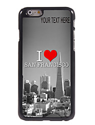 """Personalized Case I Love San Francisco Design Metal Case for iPhone 6 (4.7"""")"""