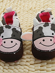 Girl's Flats Spring / Summer / Fall / Winter First Walkers / Crib Shoes Fabric Casual Gore Multi-color