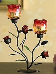 Irony ROSE Candle Holder