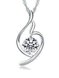 XSJ Women's 925 Silver High Quality Handwork Elegant Necklace