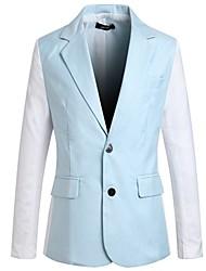 SPORTSTREET Men's Fashion Lapel Neck Sheath Blazer