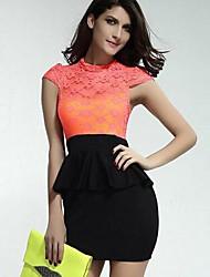 Zha.Mi  Women's  European Fashion Elegant Cheap Dress