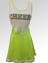 Cheerleader Costumes Women's Fashion Round Collar Dance Dress
