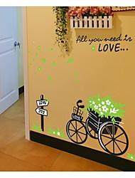 stickers muraux stickers muraux, le style vert voiture AEE vous avez besoin dans l'amour pvc stickers muraux