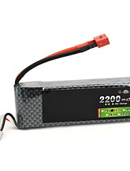 Neewer® Lion Power 11.1V 2200Mah 30C Max 35C 3S 3S1P AKKU Lipo Battery for RC Helicopter