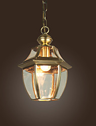 Mini Style Pendant Lights , Lantern/Traditional/Classic Living Room/Dining Room/Bedroom