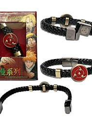 Schmuck Inspiriert von Naruto Cosplay Anime Cosplay Accessoires Armbänder Schwarz Legierung Mann
