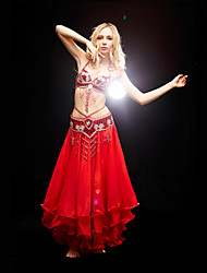 Dancewear Polyester Belly Dance Outfits For Ladies(More Colors)
