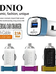 LDNIO® 12V~24V Dual USB Car Cigarette Lighter Charger Safety voltage for iPhone/Samsung and Others(5V-2.1A)