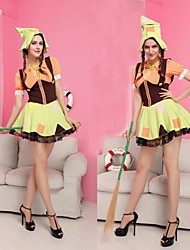 Sweet French Maid Uniform Women Halloween Costumes
