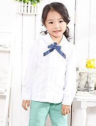 Girl's Cotton Shirt , All Seasons