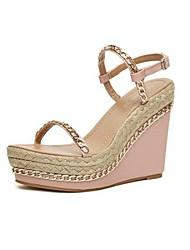Zapatos de mujer - Tacón Cuña - Cuñas / Plataforma / Talón Descubierto - Sandalias - Oficina y Trabajo / Vestido / Fiesta y Noche -