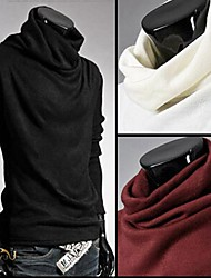 PROMOTION Men's Rotating Reactor High Collar T-shirt Render Unlined Upper Garment Sweater