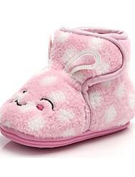 bbgobbworld Kinderbaby Soral Vlies und verdicken Sie Baumwolle Schuhe rutschfeste Stiefel
