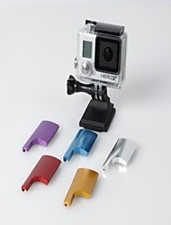 TMC CNC Aluminum Back Door Clip for Gopro Hero 4 / 3+