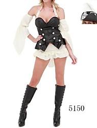 sexy fraîche perle noire de Halloween de pirate costume des femmes