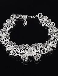 Dora Fashion All Match Silvering Butterfly Bracelet