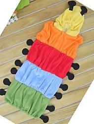 bonitos do bebê lagarta 6-24months coloridos saco de dormir swaddle
