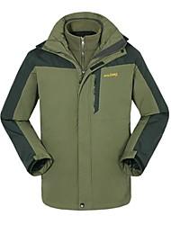 Men's 3-in-1 Thermal Windproof Hiking Jacket
