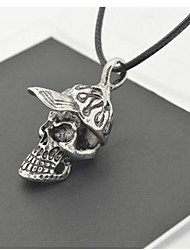 European and American Punk Personality Hat Skull Necklace