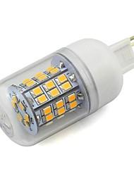 G9 3.8W 350lm 48x2835 SMD LED кукурузы стиль лампа прозрачная крышка белый теплый белый 85V-265V AC домашний свет