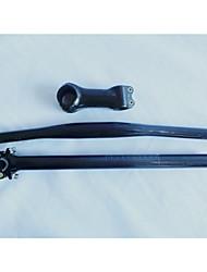 piezas de bicicleta de fibra de carbono establece manillar plano bicicleta + hb-NT07 + sp-NT15 + st-nt-CC06 tallo + tija