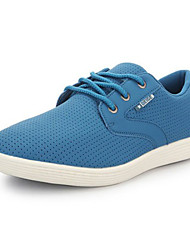 Men's Running Shoes Fabric Blue/Yellow/White