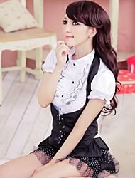 skirt sexy underwear game uniforms bar uniforms temptation DS performance clothing clothes vest school uniforms