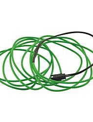 Voiture Auto 2m 2.3mm longues dia souple el bande fils au néon de corde (12v)