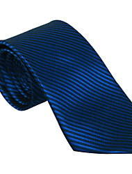 Black&Blue Striped Tie