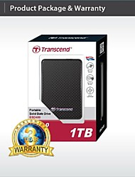 trascendere usb 1TB 3.0 esterno rigido ts1tbesd400k stato solido