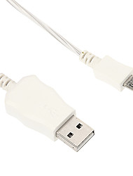 Micro USB Double Color Shining Charger Cable