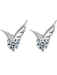 Earring Stud Earrings Jewelry Women Sterling Silver 2pcs Silver