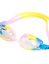 leacco Unisex Colorful Antifogging Waterproof Electroplating Swimming Goggles