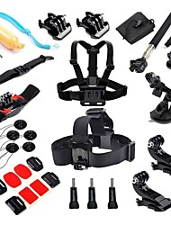 27-in-1 Accessories Kit for Gopro Hero 4 Hero3+ Hero3 Camera