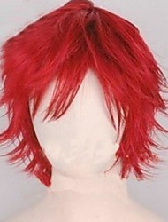 Cosplay Wigs Naruto Gaara Red Short Anime Cosplay Wigs 35 CM Heat Resistant Fiber Male